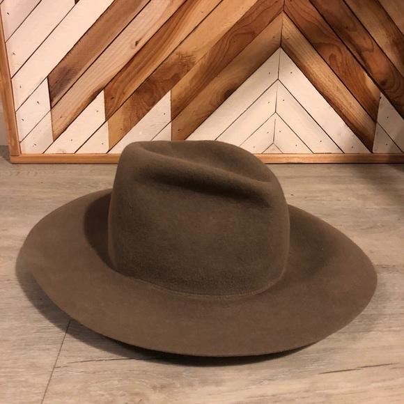 209e77d44bfd34 clyde Accessories | Wide Brim Angora Felt Hat | Poshmark